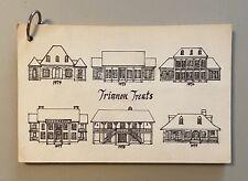 Vintage 70s 80s Trianon Treats Cookbook Baton Rouge South Louisiana Cajun Recipe