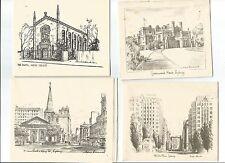 Australian ART Cedric Emmanuel Fred Harvie H R Ham Bowden 15 1950s B/W Prints