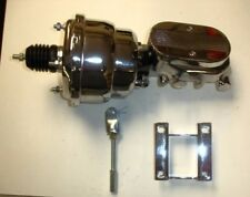 "1955-1957  Chevrolet 210 nomad chrome brake booster master 7"" dual diaphragm"