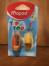 Maped Tip Top Pencil Sharpener With Free Eraser