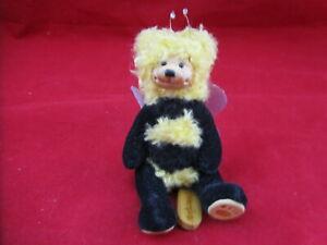 "Robert Raikes ""Stinger"" 4"" Mohair Jointed Bear Limited Edition 192/650"