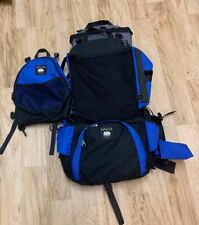 Lafuma By Madden Pure Colorado Hiking Backpack And Child Carrier Sold As It Is