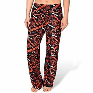 Forever Collectibles NFL Women's Chicago Bears Repeat Print Logo Comfy Pants
