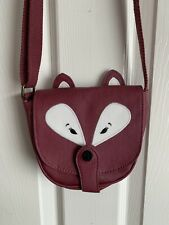 Girls Fat Face Fox Shoulder Bag