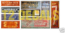 N Scale Ghost Sign Decals #7- Weather Your Buildings & Structures!