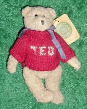 BOYDS' BEARS TED Teddy Bear Stuffed Toy Plush Doll THE ARCHIVE COLLECTION - RARE