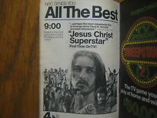 1976 TV Guide (JESUS CHRIST  SUPERSTAR/BERNADETTE  PETERS/BEN  MURPHY/GEMINI MAN