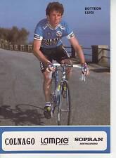CYCLISME carte BOTTEON LUIGI équipe LAMPRE 1991 format 12 x 16,5 cm