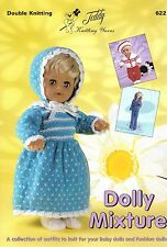 622 Dolly Mixture knitting book in DK  - dolls & premature babies