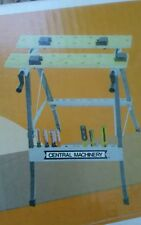 Central Machinery Foldable Workbench/ Vise Item # 47844 Protractor Scale Nwt