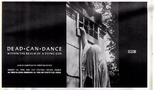 "1/8/87pg49 Album Advert 6x10"" Dead Can Dance, Within The Realm Of A Dying Sun"