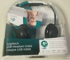 Logitech USB Headset H360 Comfort Clear Digital Sound Microphone A40