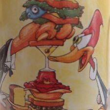 Woody Woodpecker Coffee Tea Mug Cup The Banquet Busters Walter Lantz