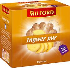 (100g=4,45€) Milford Tee Ingwer Pur - Ingwertee - 28 Beutel