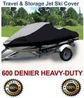 600 DENIER Trailerable Jet Ski Cover Yamaha Wave Raider 1100 1994 1996 2 Seater
