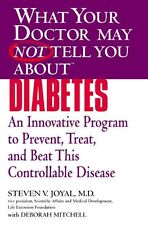 What Your Doctor May Not Tell You About Diabetes: An Innovative Program to Preve