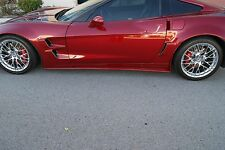 Corvette C6 Fiberglass Side Skirts  by CSC / Vette C6 2006-13