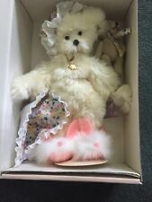 """Annette Funicello Bear Collection """"Dream Keeper"""" New With Box Certificate"""