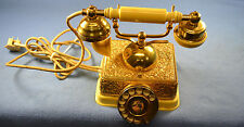 Rotary Dial Telephone Vintage Princess Desk French Romance Victorian Style