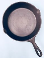 "Vintage Cast Iron #6 LODGE 3-NOTCH 9"" SKILLET ~ Restored ~ Seasoned ~SMOOTH"