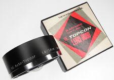 Topcon RE 5.8cm f1.4 Lens Hood ........... MINT w/Box