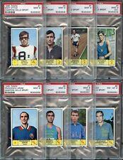 1968 PANINI CAMPIONI DELLO SPORT PARTIAL PSA SET 99% COMPLETE / 509 LOT [JD999]