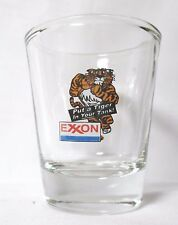 Exxon 'Put a Tiger in Your Tank' Logo on Clear Shot Glass