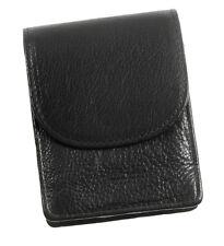Echtes Leder Zigarettenetui Zigarettenbox BIG BOX XL schwarz von LEDASS92