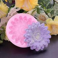 3D Flower Silicone Fondant Cake Chocolate Candy Decor Sugarcraft Mold Mould