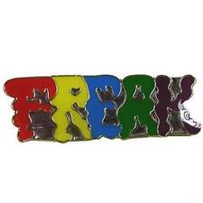 FREAK HAT OR JACKET PIN pin606 new jacket lapel metal colorful freaks nerd