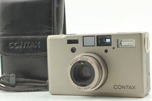 [Exc+5] CONTAX T3 Double Teeth Point & Shoot 35mm Film Camera From JAPAN