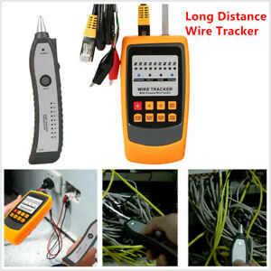 Car Home Long Distance Cable Wire Tracker Short & Open Circuit Tester Detector