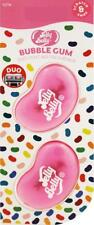 1 x Twin Pack 3D JELLY BELLY Vent DUO Bean Sweet Gel Air Freshener BUBBLE GUM