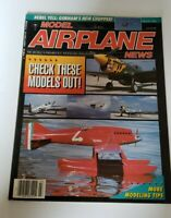 Vintage Model Airplane News Magazine March 1990