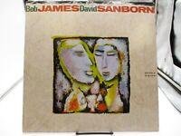 Bob James / David Sanborn -Double Vision -LP 1986 Warner Bros 1-25393 VG++ c VG+