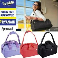 Ryanair Approved Free Under Seat Shoulder Hand Cabin Luggage Bag Travel Holdall