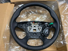 NEW GENUINE FORD FOCUS MK2 FACELIFT 4 SPOKE LEATHER STEERING WHEEL AM51-3600-CE