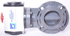 """Spears Actuated Butterfly Valve 3"""" PVC 41201J101-030"""