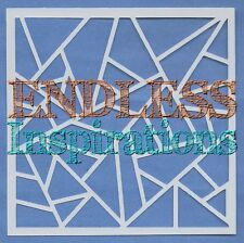 "6""x6"" Endless Inspirations Stencil, Abstract E - Free US Shipping"