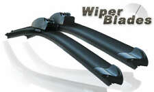 "Aero Front Flat Beam Windscreen Wiper Blades 24"" 22"" Upgrade Pair Car"