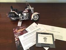 New ListingFranklin Mint Harley-Davidson 1986 Heritage Softail Classic 1:10 Scale W/Box