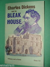 Charles Dickens & his Bleak House 1970 vintage booklet Guide