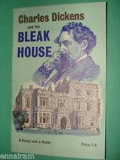 Charles Dickens & his Bleak House 1970 vintage booklet Guide