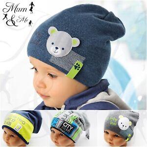 Kids Boys Hat Warmer Knitted Hat Autumn Winter Cap Stylish Beanie Warm Fleece