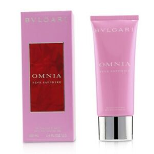 NEW Bvlgari Omnia Pink Sapphire Bath & Shower Gel 100ml Perfume