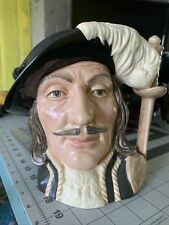 Royal Doulton 3 Musketeers Athos large Toby Mug 1955 #D6452
