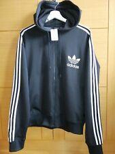 ADIDAS 2005 black with white stripes sudadera TALLA XL