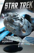 STAR TREK Officiel Starships Magazine #132 Navire de Guerre Voyager Eaglemoss