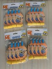 Minions 24 PCS BLOWOUTS Birthday Party Supplies Noisemakers Horns Favors