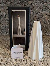 Georg Jensen Supernova Candleholder, Large, Porcelain (New + In Box)
